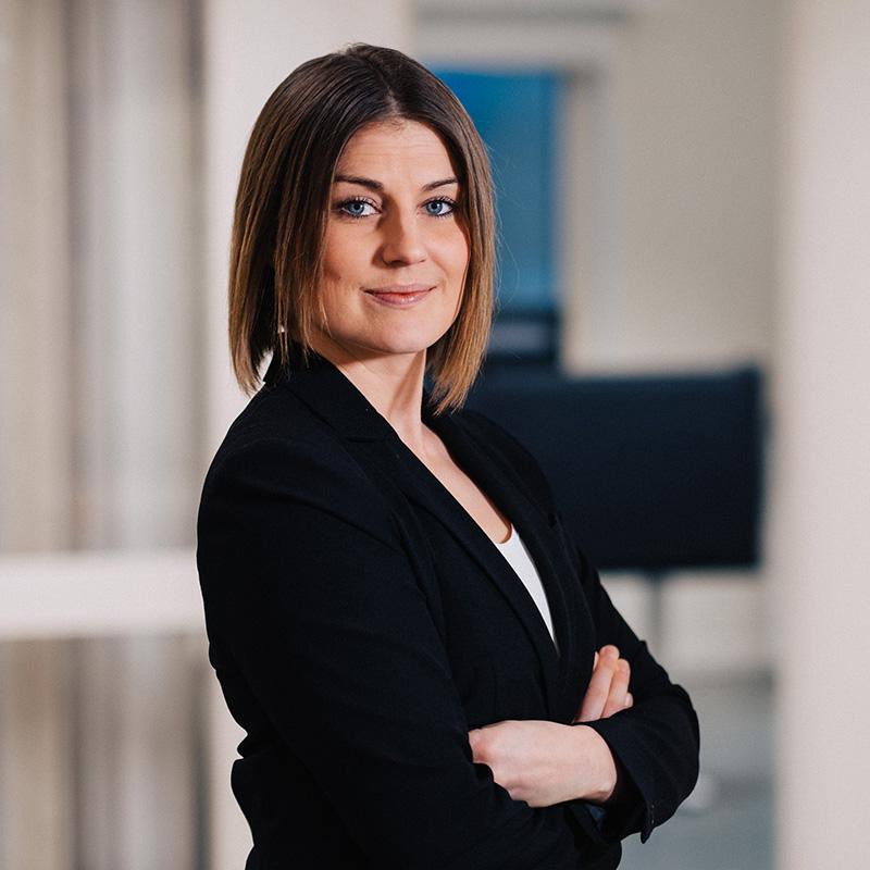 CSK Projekt hälsar Caroline Lundberg välkommen